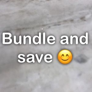 Bundle and save.... make an offer, save money!